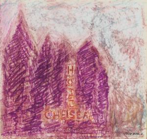 Ezio Gribaudo - carnet di viaggio a New York, 1961