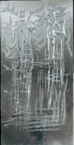 LUCIO FONTANA - New York, Concetti Spaziali, 1961 (coll. Studio Gribaudo)