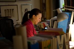 Paola Gribaudo at work -  photo 2013 © Stefania Monsini