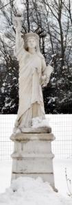 statua della libertà a Pontestura - AL cut