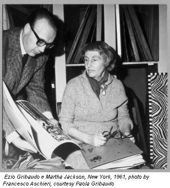 E Gribaudo e M Jackson - 1961