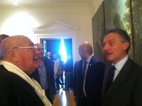 3 giugno 2013 - ANTEPRIMA con Ambasciatore CLAUDIO BISGNERO