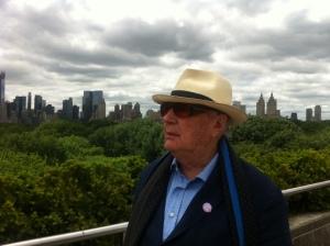 8 giugno 2013 - MET LANDSCAPE  Ezio on NY skyline
