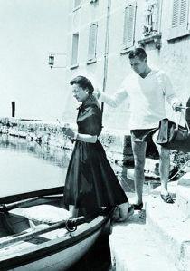 Punta San Viglio, Garda (Verona) - Vivien Leigh e Laurence Olivier