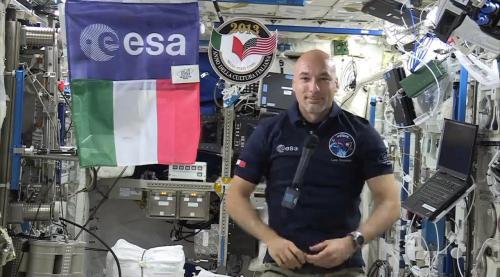 Luca Parmitano - diretta tv dallo spazio