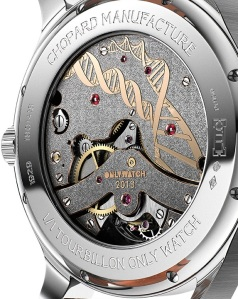 L.U.C Tourbillon Only Watch 2013 Edition ingranaggi