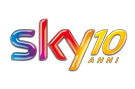 logo SKY 10 ANNI
