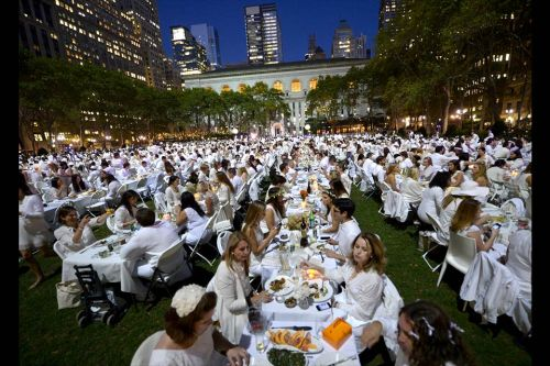 white dinnerNYC 2013