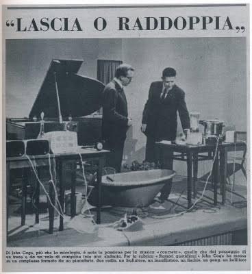 John Cage LASCIA O RADDOPPIA