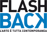 logo FLASH BACK bianco