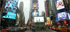 NYC Times Square - billboard