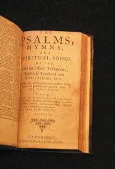 BAY PSALMS BOOK