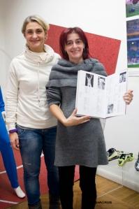 ELISA UGA e ANNALISA ZANNI  Fondazione FILA Museum - dom 17 nov 2013 © Stefania Monsini