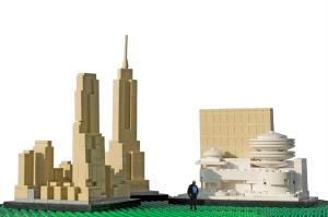 EZIO a NYC LEGO Architecture