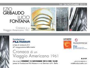 INVITO a Biella, Fondazione FILA MUSEUM - 15 nov 2013 h 18