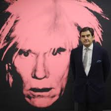 PETER BRANT - Andy Warhol, self portrait