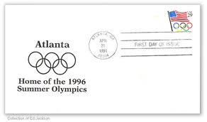 USA 1996 Olympic Games first issue