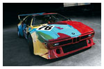 BMW ART CAR Warhol 1979