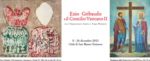 invito inaugurazione EZIO GRIIBAUDO E IL CONCILIO VATICANO II